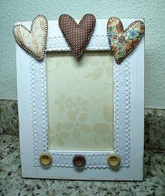 Porta-retrato Romantic