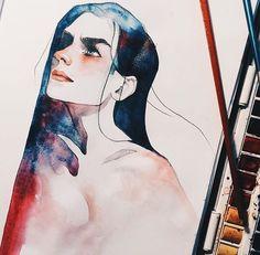 Watercolor! kelogsloops