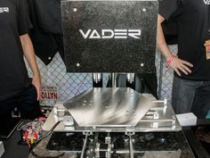 The Vader is like an inkjet printer for molten metal.Join the 3D Printing Conversation: http://www.fuelyourproductdesign.com/