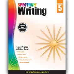 Photo pdf mcgraw hills math grade 8 by mcgraw hill editors by carson dellosa va spectrum writing workbook grade 5 fandeluxe Image collections