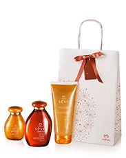 Presente Natura Sève - 2 Óleos Desodorante Corporal + Sabonete Líquido + Embalagem