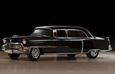 View 1955 CADILLAC SERIES 75 FLEETWOOD LIMOUSINE - PURCHASED NEW BY ELVIS PRESLEY Details