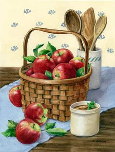 Macs and Apple Butter by Maureen McCarthy ~ autumn ~ harvest