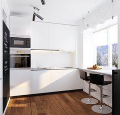 Расширяем пространство: Все о дизайне маленькой кухни — Dafix - ремонт это просто!