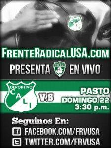 Deportivo Cali vs. Deportivo Pasto En Vivo - Abril 22 de 2012