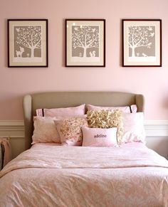 Sugar Fresh: Adeline's Pink Big Girl Room