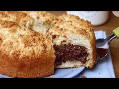 SBRICIOLATA MORBIDA RICOTTA E NUTELLA ricetta torta veloce