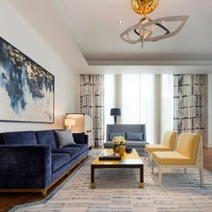 Fabulous Lighting Ideas by David Collins Interiors | more inspiring images at http://diningandlivingroom.com/