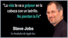 Frase de Steve Jobs del Fe