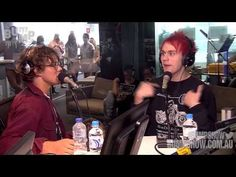 Michael Clifford Reacts To Ariana Grande's Personal Message - YouTube