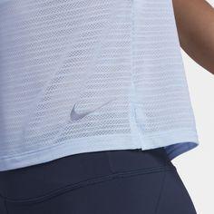 Nike Miler Damen-Kurzarmoberteil