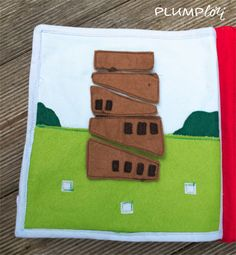 Tower of Babel Make it walls of Jericho or building the walls of the temple Bible Quiet Book, Busy Book, Quiet Books, Quiet Book Templates, Quiet Book Patterns, Preschool Art, Preschool Activities, Bible Study Group, Tower Of Babel