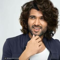 Hair And Beard Styles, Long Hair Styles, Buddha Canvas, South Hero, Vijay Actor, Vijay Devarakonda, Shaggy, My King, Cool Pictures