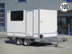 FC2730HTD mit Fenster und Seitentür Kofferanhänger Recreational Vehicles, Windows, Camper, Campers, Single Wide