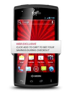 Virgin Mobile | Kyocera Rise No Contract Android-Powered Phone