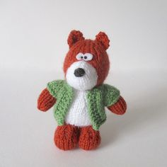 Ravelry: Robbie the Fox pattern by Amanda Berry
