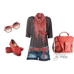 Rose colored glasses, created by shauna-rogers on Polyvore
