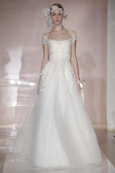 abito da sposa Frances Reema Acra Fall 2014