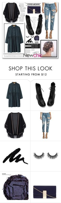 """""""Newchic"""" by piric-fatima ❤ liked on Polyvore featuring OneTeaspoon, Balmain, Urban Decay and Dorothy Perkins"""