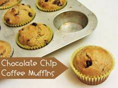 Chocolate Chip-Coffee Muffins - Home Cooking Memories