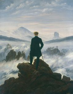 """The Mysteries behind Caspar David Friedrich's """"Wanderer above the Sea of Fog"""" - Artsy Best Picture For History cartoon For Your Taste You are looking for something, and it is going to tell you exactly Romantic Paintings, Classic Paintings, European Paintings, C D Friedrich, Caspar David Friedrich Paintings, Renaissance Kunst, Romanticism Artists, Images Murales, Arte Obscura"""