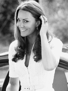 Kate Middleton. Can't help but to love her.