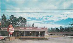 ... , SC, Postcard, Gable's Restaurant, Bar-B-Q, Motel, Florence U.S. 301