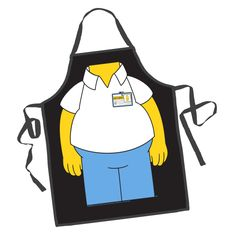 ICUP Simpsons Homer Character Apron