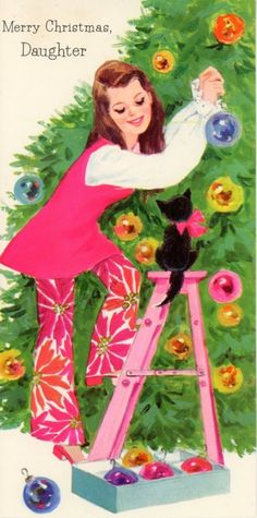 Christmas Love, Retro Christmas, Christmas Pictures, Christmas Crafts, Christmas Decorations, Christmas Labels, Christmas Graphics, Christmas 2017, Vintage Greeting Cards