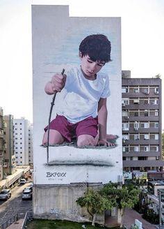 Hadera, Israel, piece by BKfoxx