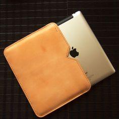 iPad2用 革ケース