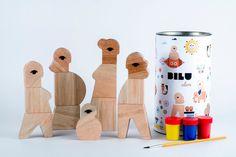 Здравствуйте, замечательный - БИЛУ-это магнитный деревянный набор игрушка, которая поощряет детей здание нестереотипных персонажей