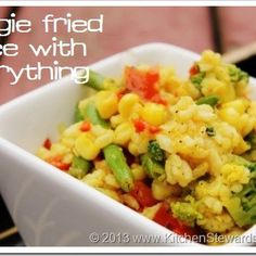 Fried Rice with Any Vegetables
