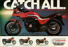 Kawasaki Motorcycles, Cars And Motorcycles, Kawasaki Classic, Jet Skies, Motorcycle Manufacturers, Retro Motorcycle, Transporter, Retro Ads, Sportbikes