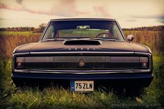 Shop 1966 Dodge Charger Poster created by BustedRod. Custom Classic Cars, Custom Cars, Abandoned Cars, Abandoned Vehicles, Mopar Or No Car, Kustom Kulture, Vintage Trucks, Vintage Motorcycles, My Ride