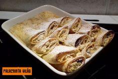 bécsi túrós palacsinta French Toast, Breakfast, Minden, Food, Morning Coffee, Essen, Meals, Yemek, Eten