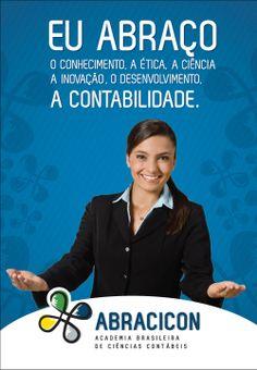 Academia Brasileira de Ciências Contábeis - ABRACICON. Campanha institucional.