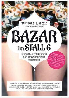 Carotte Vintage ist beim Bazar im Stall 6 mit dabei! Sa 2. Juni 12-20 Uhr. Ich freue mich auf Euch!