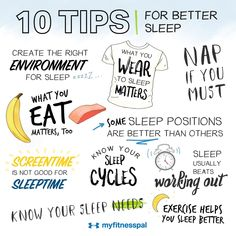 Healthy Habits For Life: 10 Tips For Better Sleep Healthy Habits For Life: 10 Tips For Better Sleep Best Sleep Positions, Healthy Sleeping Positions, 7 Hours Of Sleep, Control Cravings, Rem Sleep, My Fitness Pal, Fitness Tips, Ways To Reduce Stress, Sleeping Too Much