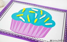 Summer Crafts For Kids, Summer Fun, Purple Cupcakes, Printable Activities For Kids, Messy Play, Play Doh, Imaginative Play, Business For Kids, Toddler Crafts
