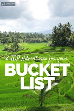 Top 8 Adventures Around the World that should be on your Bucket List if you're a true adventure traveler! | The Planet D Travel Blog by Canada's Adventure Couple!
