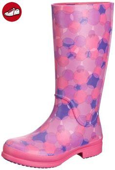 Wellie Rain Boot, Femme Bottes, Rose (Fuchsia/Ultraviolet), 36-37 EUCrocs