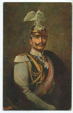 Kaiser Wilhelm II. König von Preussen, The German Emperor & King of Prussia 1859 – 1941