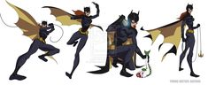 YOUNG JUSTICE: BATGIRL by *philbourassa on deviantART