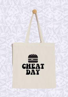 Cheat Day guys  #cheatday #totebag #burger #joks #tendance #fashion