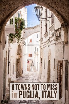 Ostuni is one of the 8 gorgeous towns in Puglia not to miss. There are so many hidden gems in this southern region of Italy.