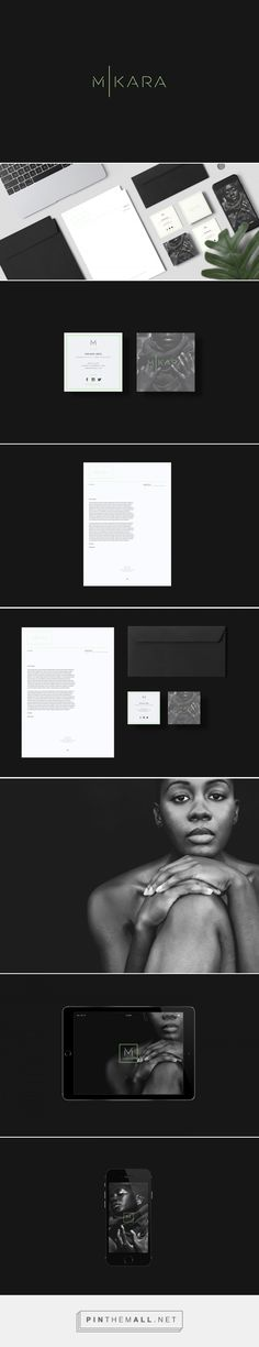 Mikara Fashion Stylist Branding by Jan-Alfred Barclay | Fivestar Branding Agency – Design and Branding Agency & Curated Inspiration Gallery