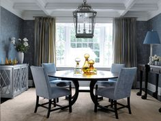 Here are the best ways for dining room decorating - When it came to creating more storage and seating for her client, designers included shelving and a bench seat in their overall concept for this eclectic dining room. They incorporate an equally inviting design in the living room, making the transition from room to room an easy one. Dining room... - best dining room decorating - dining room decor