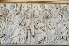 ARA PACIS.  Julio-Claudian Family.