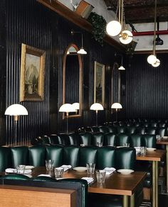 The Spaniard, NYC. For more restaurant lighting inspiration, follow #inscapesdesign